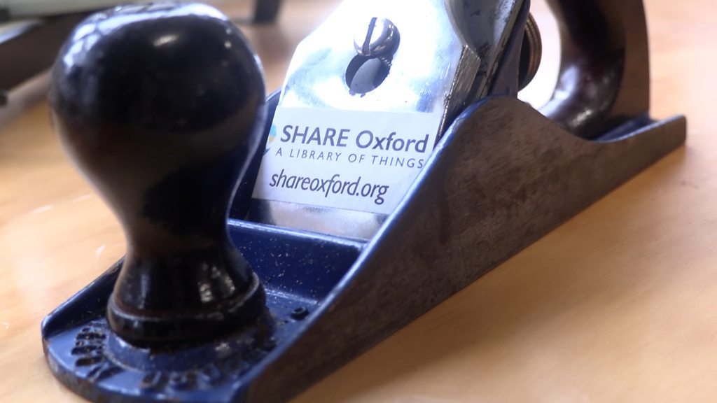 Oxford library of things: The place you can borrow a drill