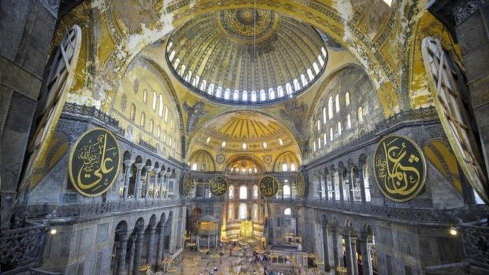 聖索菲亞大教堂內部