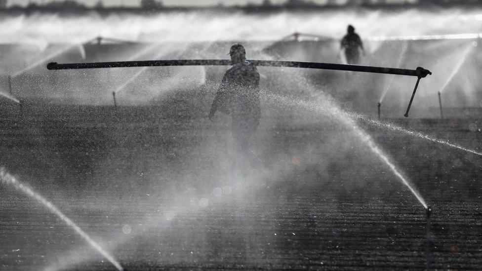 US irrigation