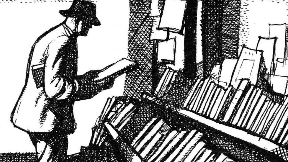 Coleccionista de libros.