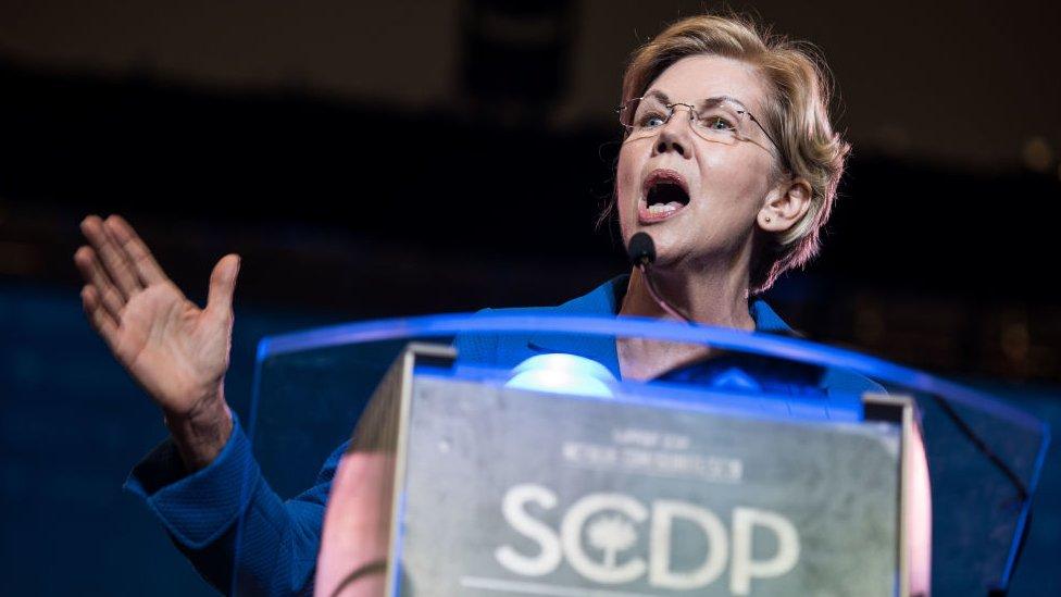 馬薩諸塞州參議員沃倫(Elizabeth Warren)