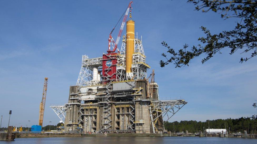 Cohete de la NASA.