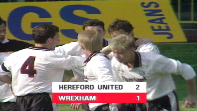 When an English side won the Welsh Cup