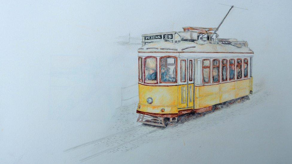 Tranvía solo
