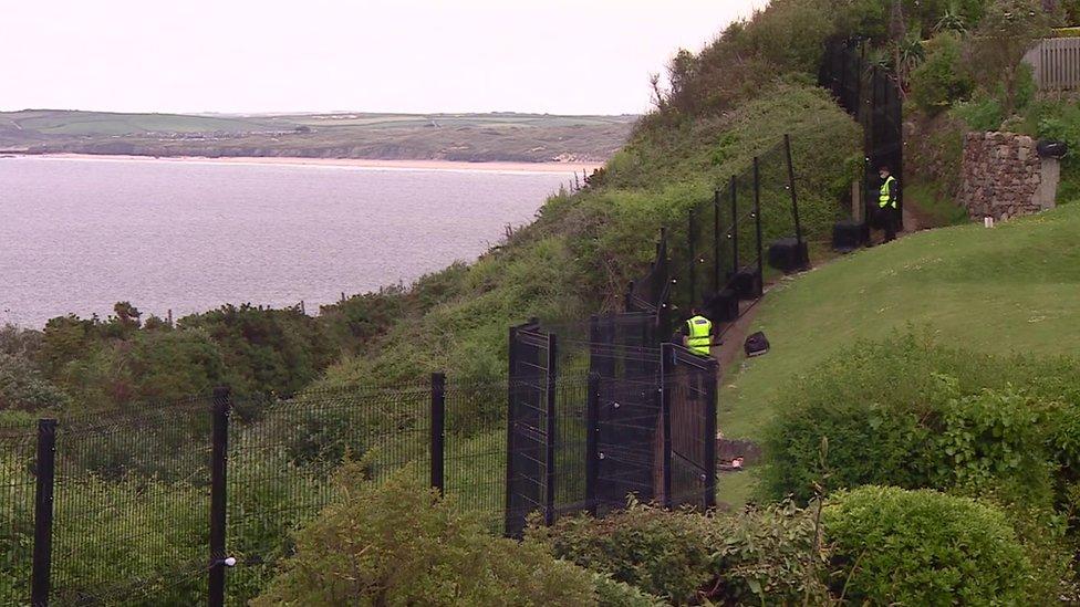 保安鐵柵欄