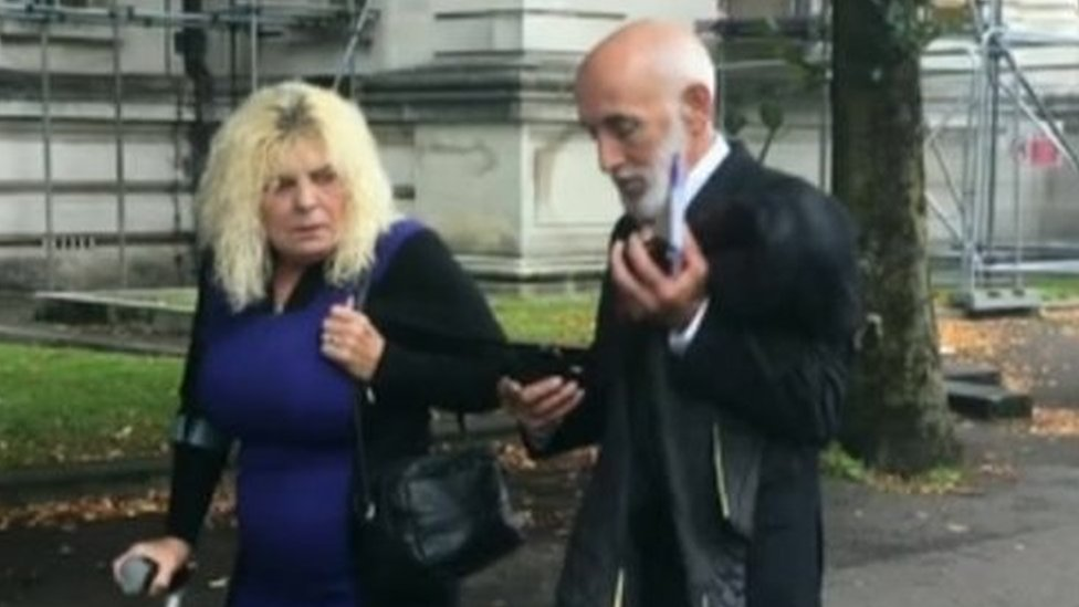 'Compensation' behind Barry rape claims, court told