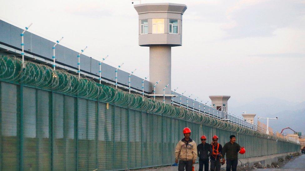 Un campo de detención en Sinkiang