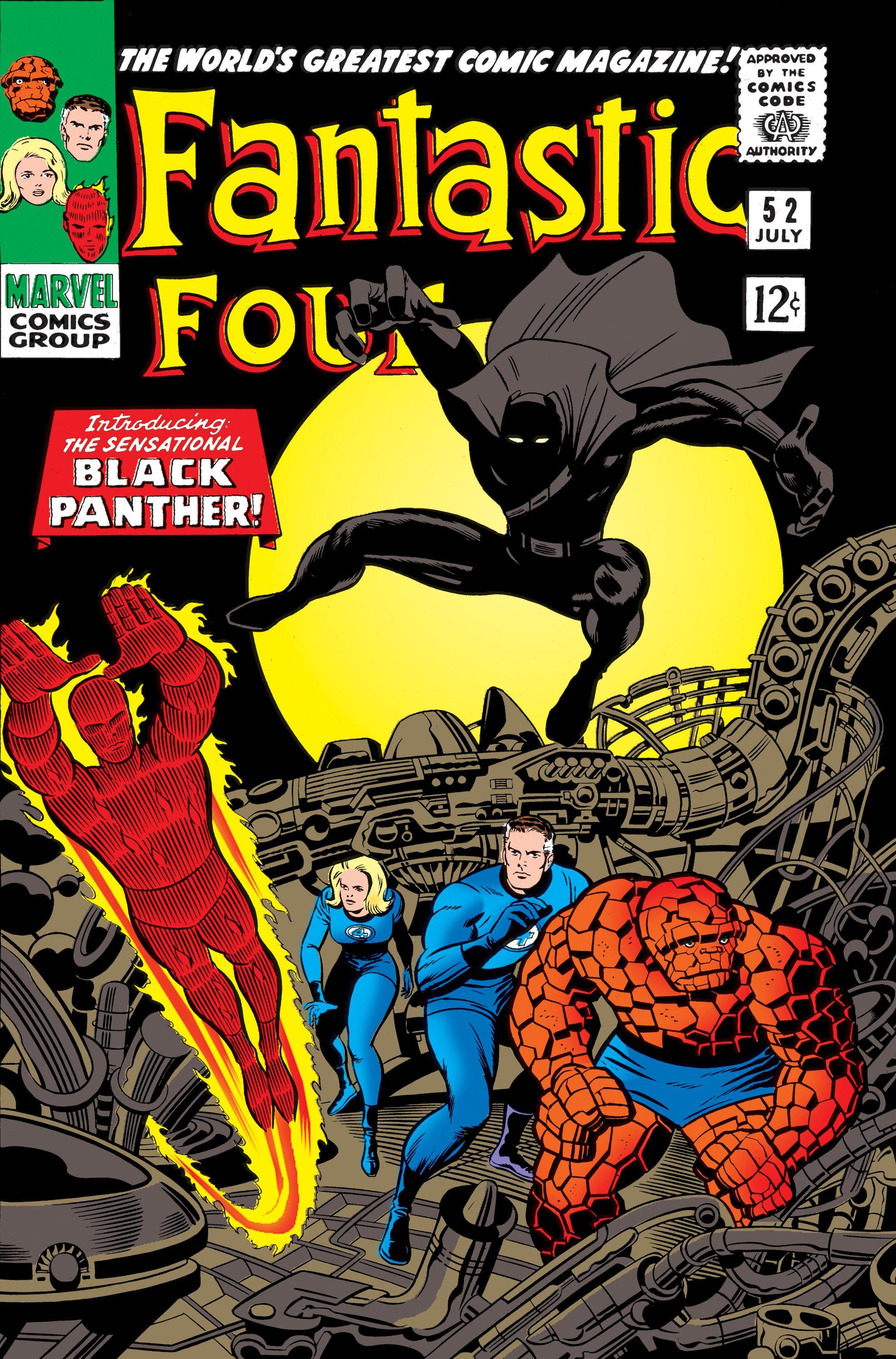 Los 4 Fantásticos y Black Panther