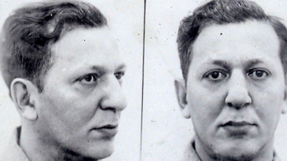 Louis Buchalter, detenido.