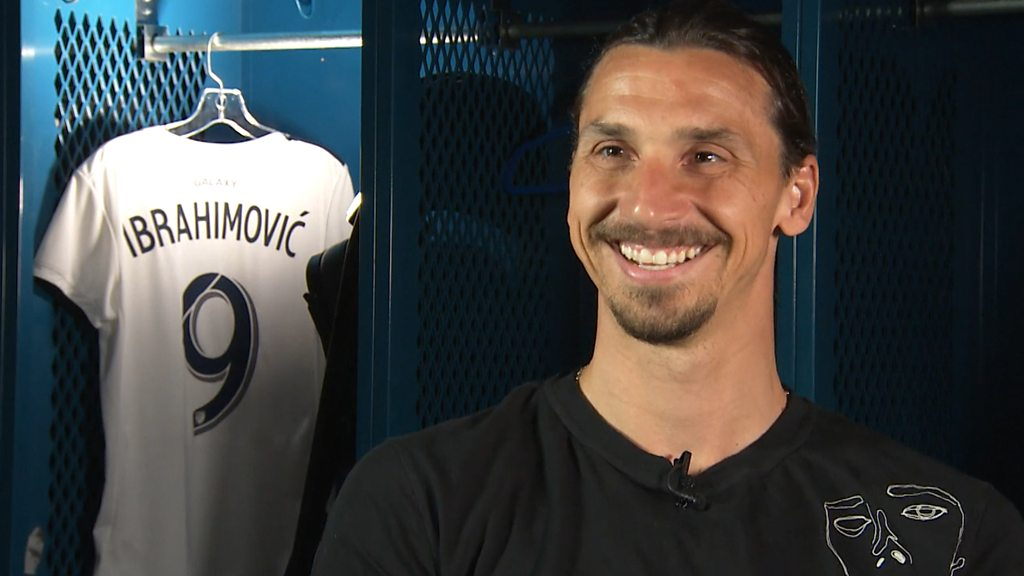 Zlatan Ibrahimovic on that Galaxy goal, Man Utd and Rooney