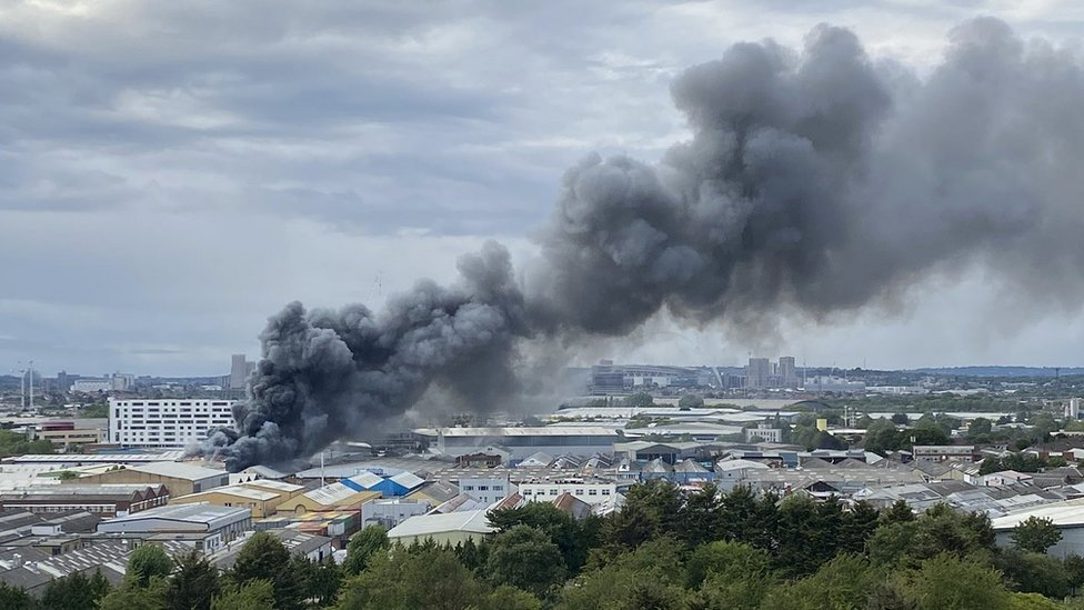 Fire in Park Royal