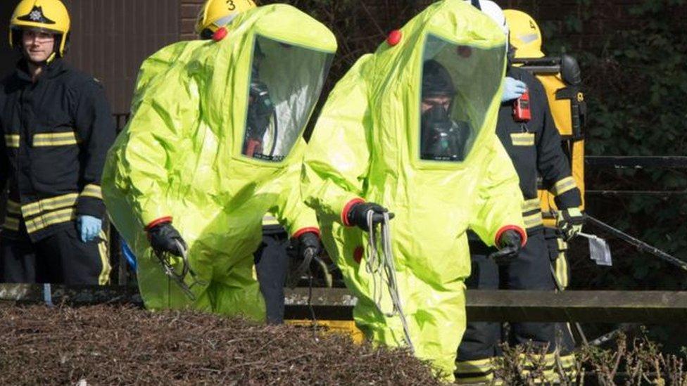 Specialist officers in Salisbury