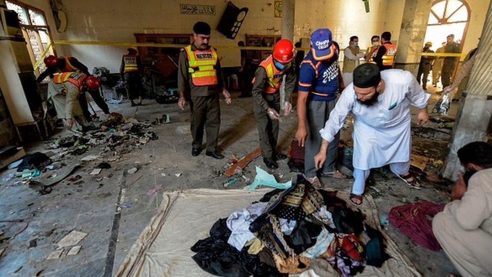 В религиозной школе в Пакистане произошел взрыв