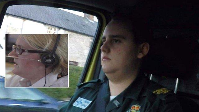Ambulance driver and control