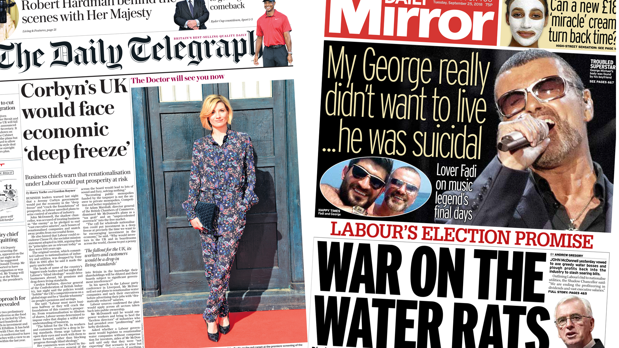The Papers: Will 'war on water rats' increase bills?