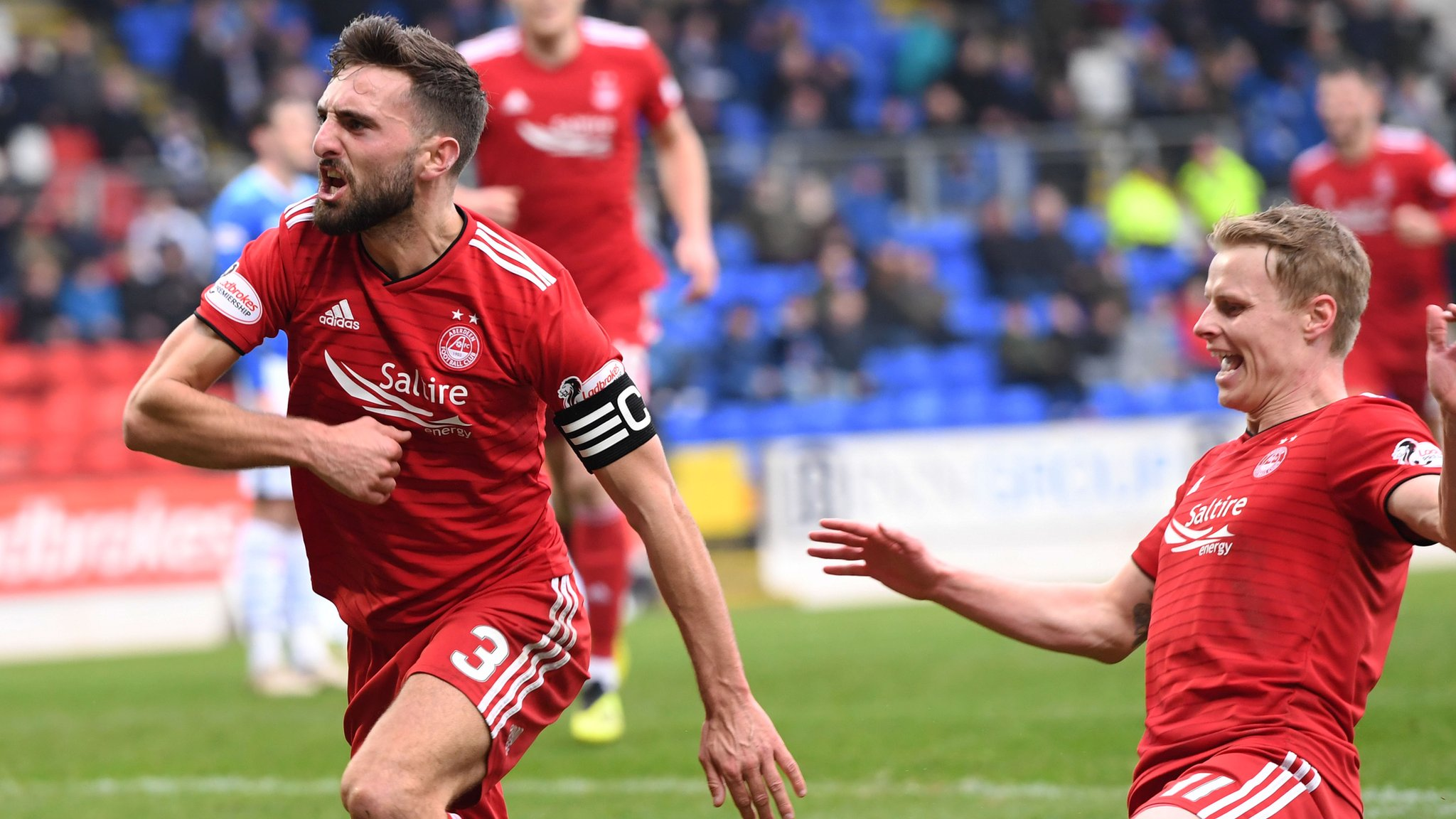 St Johnstone 0-2 Aberdeen: Shinnie double extends hosts' winless run to seven