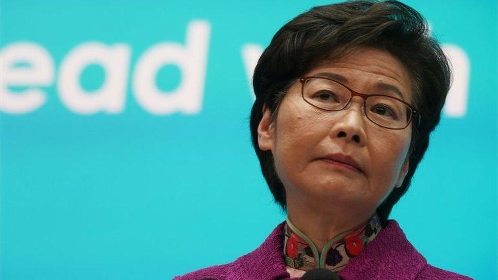 林鄭月娥批評有市民不守防疫規矩。