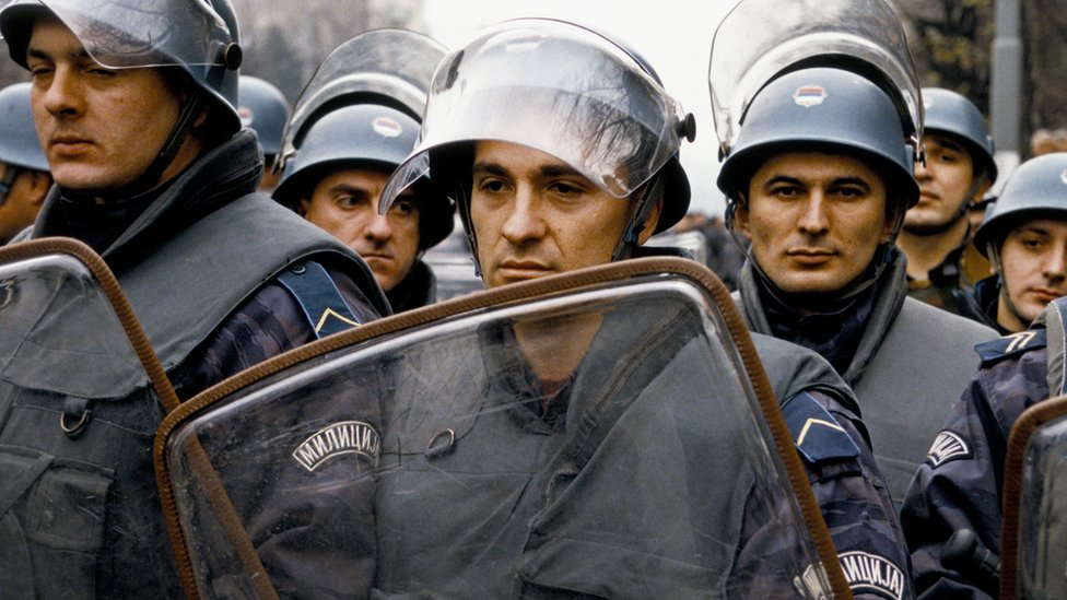 studentski protest 90-ih, srbija