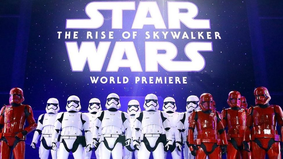 Star Wars: The Rise of Skywalker is the final film in the latest trilogy