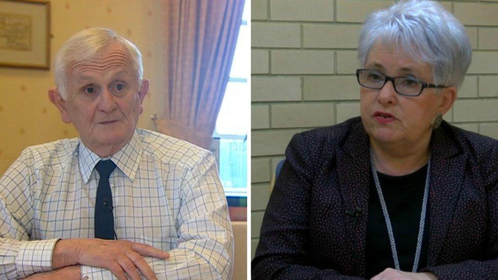 David Jenkins ac Ellen ap Gwynn