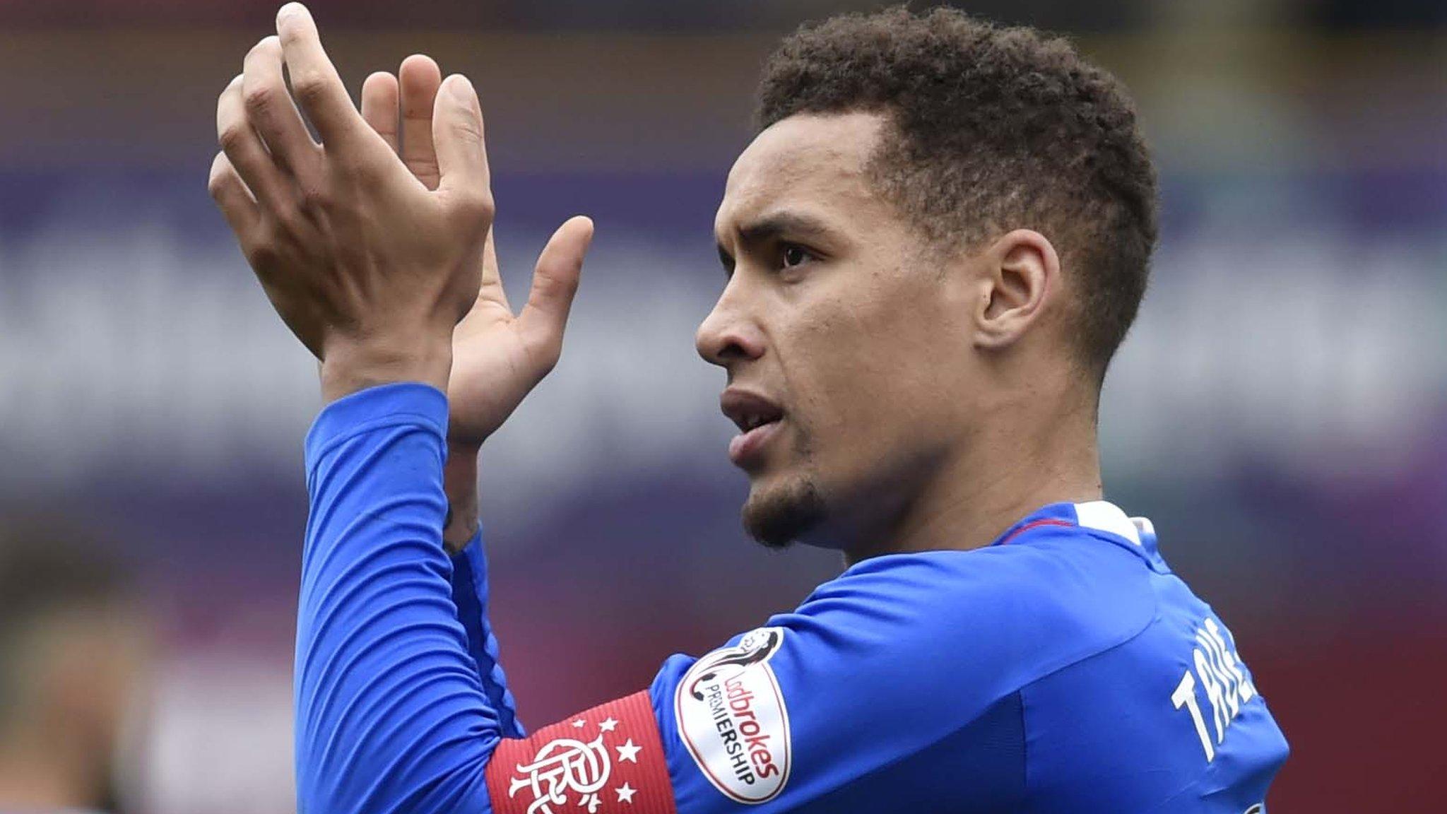 James Tavernier: Police investigate racist abuse of Rangers captain
