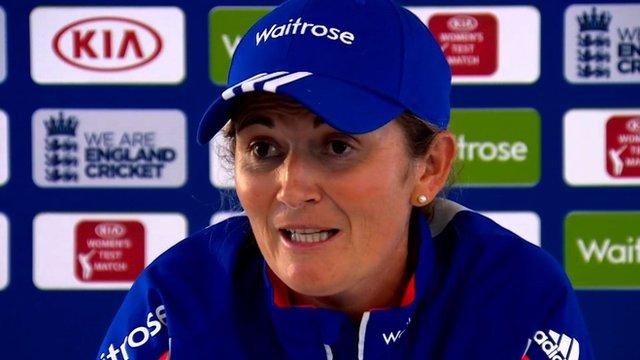 England captain Charlotte Edwards
