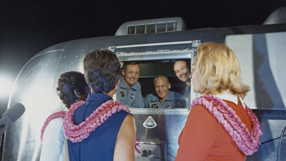 apollo 11 astronotları