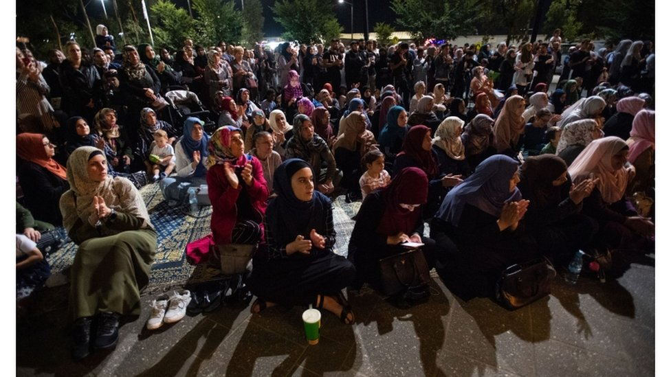 تأبين ضحايا حادثة إطلاق النار في مسجدين في نيوزيلاندا