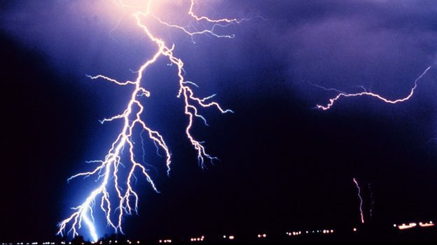 Lightning struck the power grid near Google's data centre four times in a row