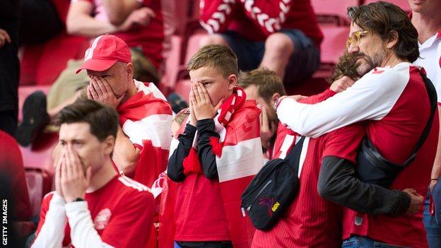 Navijači Danske , EURO 2020, jun 2021.