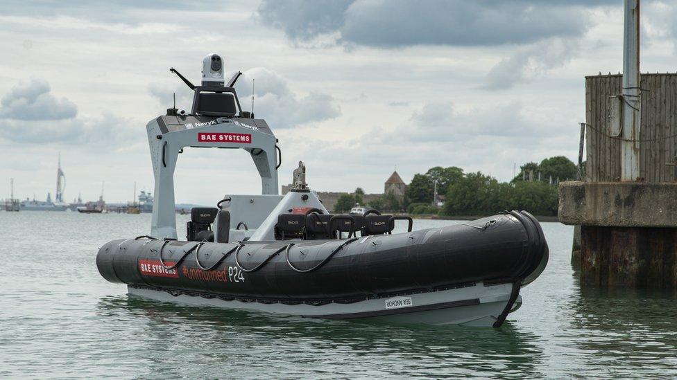 Pacific 24 boat