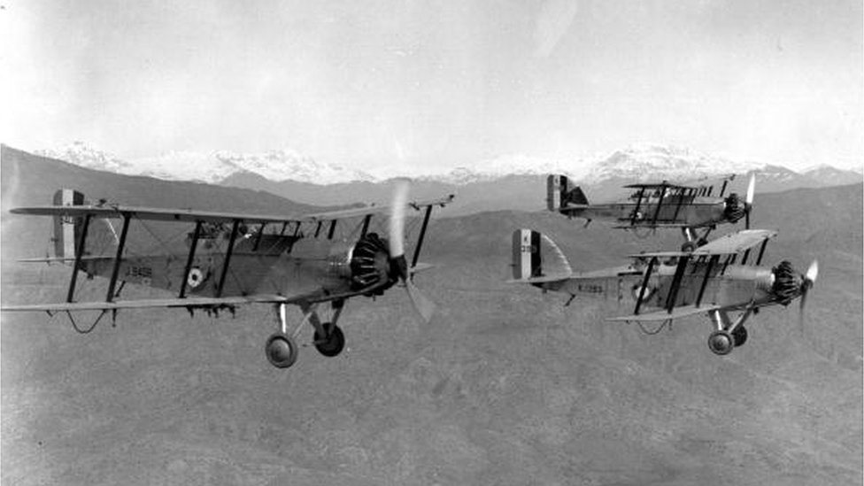 Royal Air Force planes in Iraqi Kurdistan