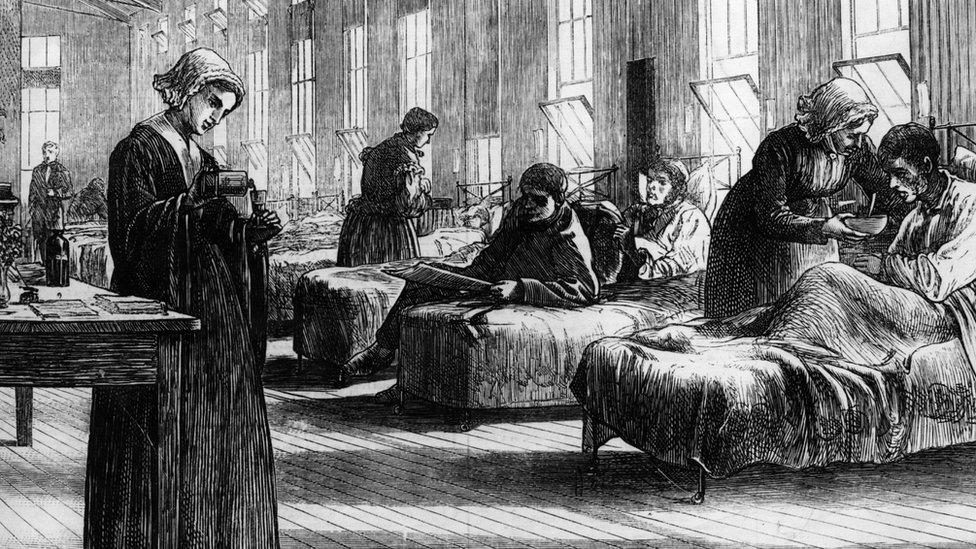 Illustration of first smallpox vaccination