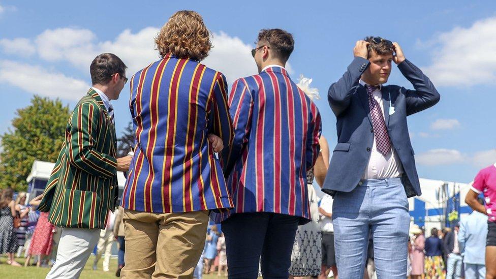 Blazers at Henley Regatta