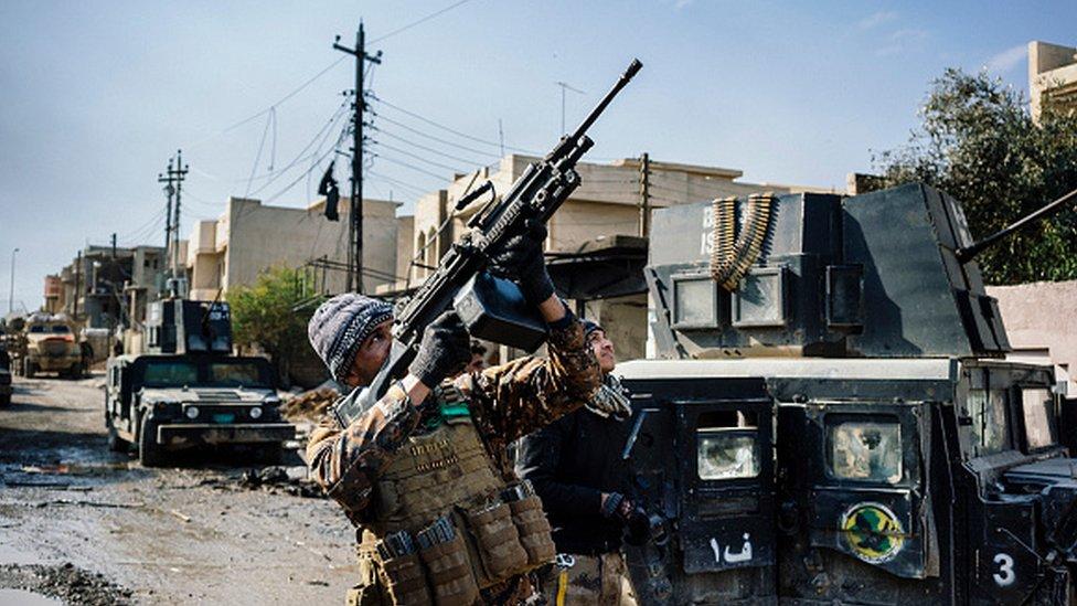 التقرير بين أن لدى التنظيم فدرات متقدمة في صنع الأسلحة.