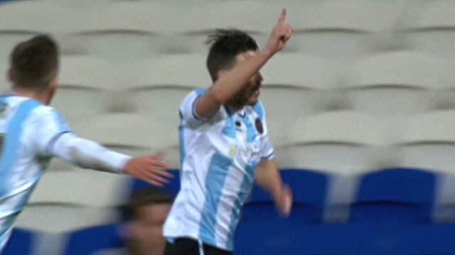 Shrewsbury striker Andy Mangan
