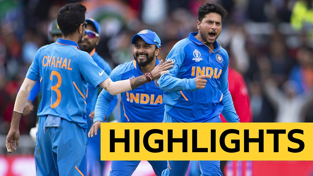 Cricket World Cup: Dominant India beat Pakistan - highlights
