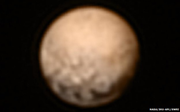 Pluto image from 3 July