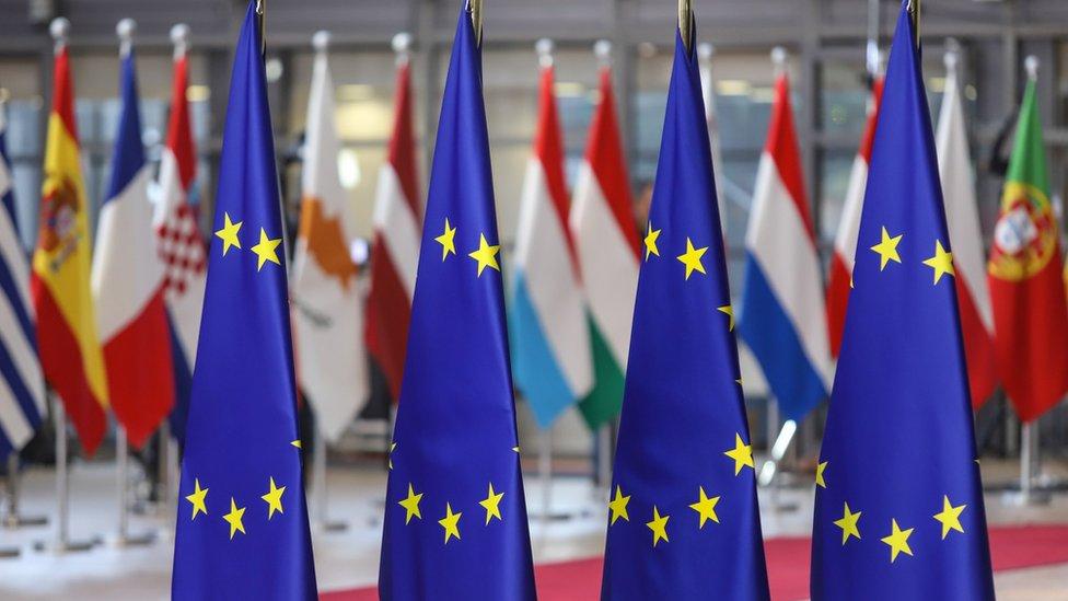 Četiri zastave EU