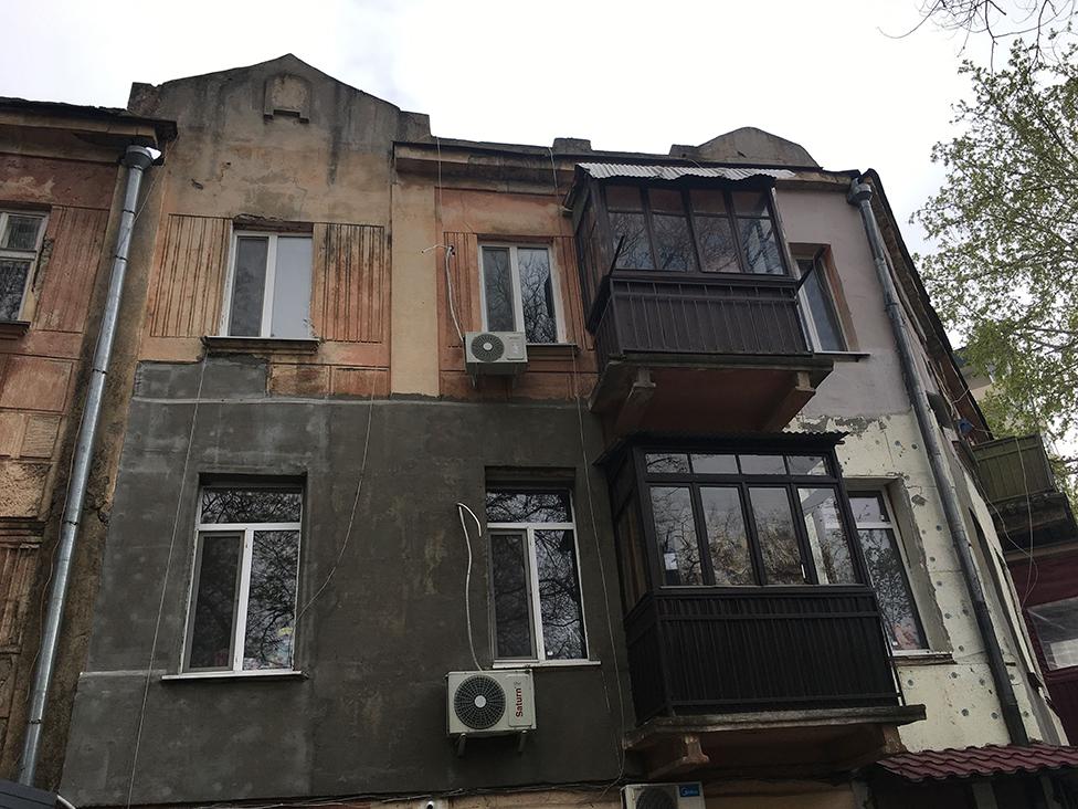 The apartment in Odessa