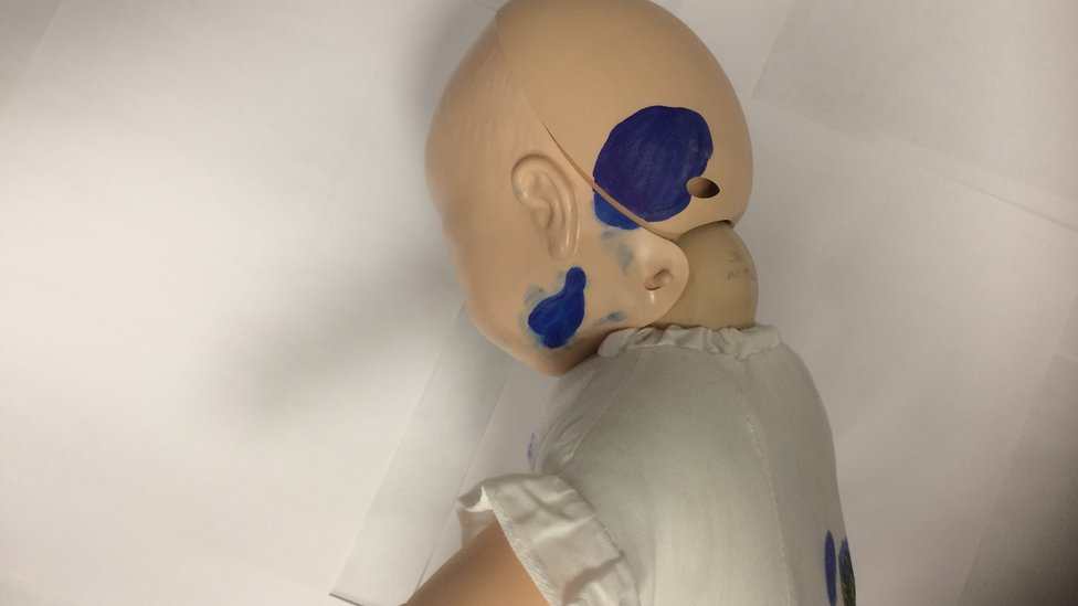 Mannequin used in Dearlove trial