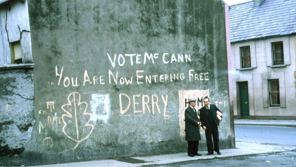 Original 'Free Derry' wall
