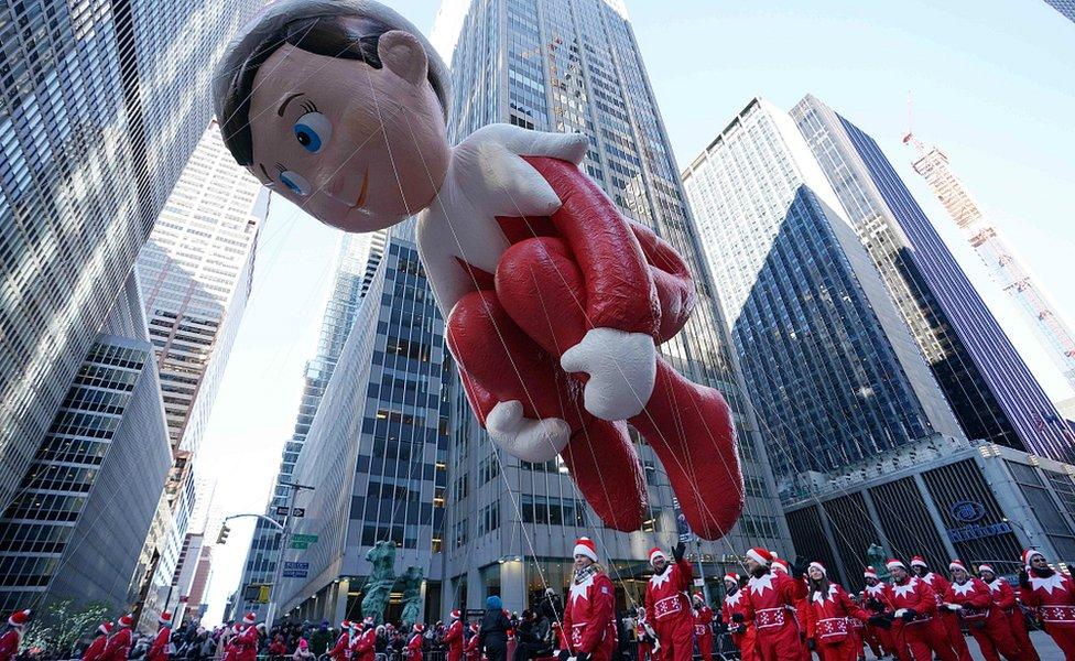 Parada u Njujorku, balon