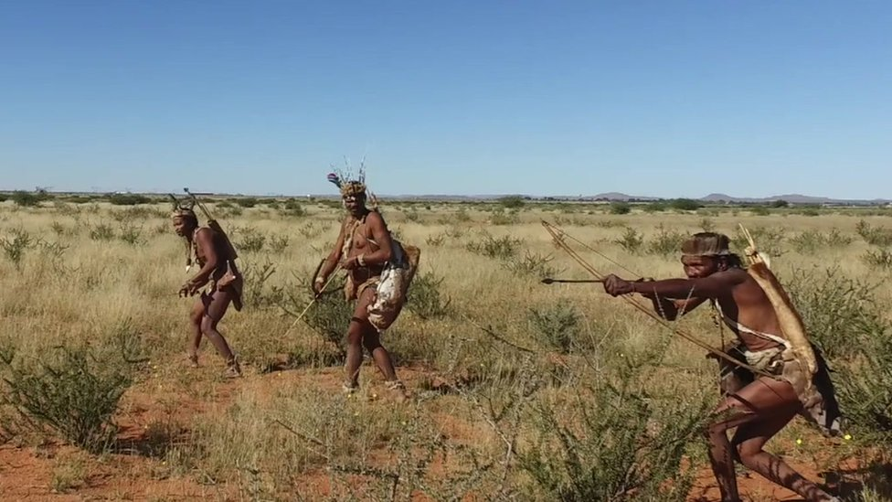 Khoisan hunters