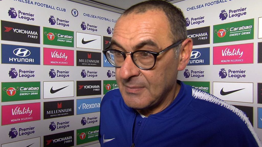 Chelsea 2-0 Man City: Blues 'mentality' makes Maurizio Sarri 'very happy'