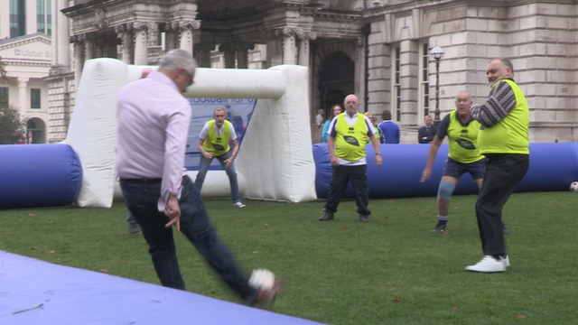 'Danderball' takes place on Belfast City Hall lawn