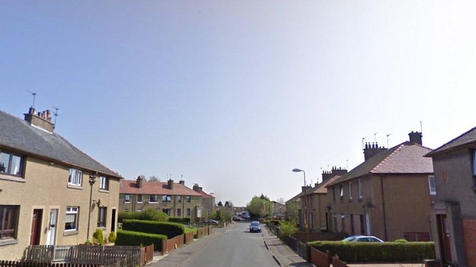 Man stabbed in neck in street attack in West Lothian