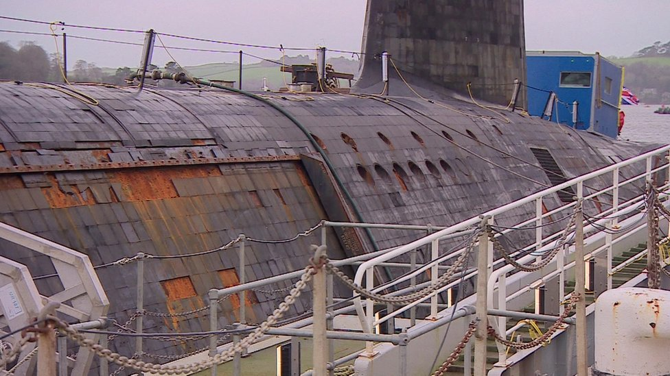 Devonport submarine base 'not fit for purpose', say MPs