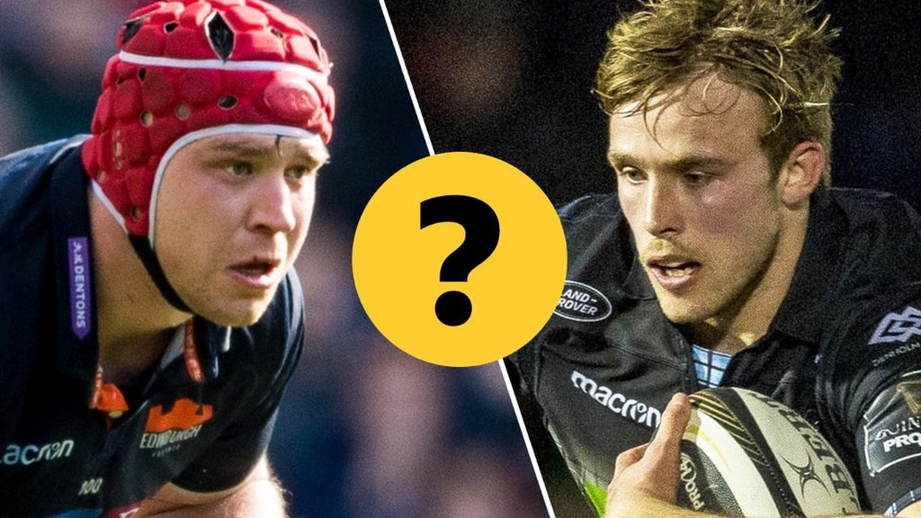 Gilchrist or Gray? Or both? Pick your combined Glasgow-Edinburgh XV