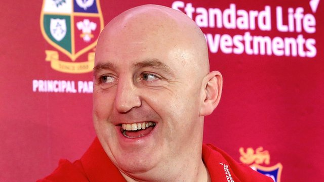Keith Wood toured with the Lions in 1997 and 2001